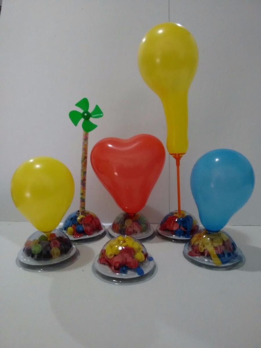 Enfeite De Balão ~ Enfeite De Mesa Suporte Para Balões R$ 12,99 em Mercado Livre