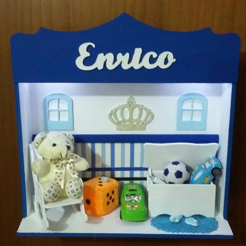 enfeite de porta para quarto e maternidade personalizado