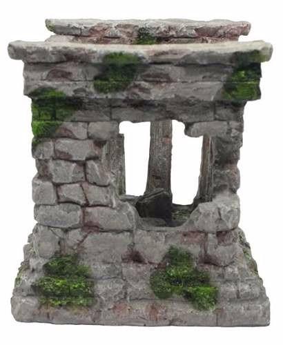 Enfeite De Resina ~ Enfeite De Resina Ruina Romana Colunas Aquario R$ 154,00 em Mercado Livre