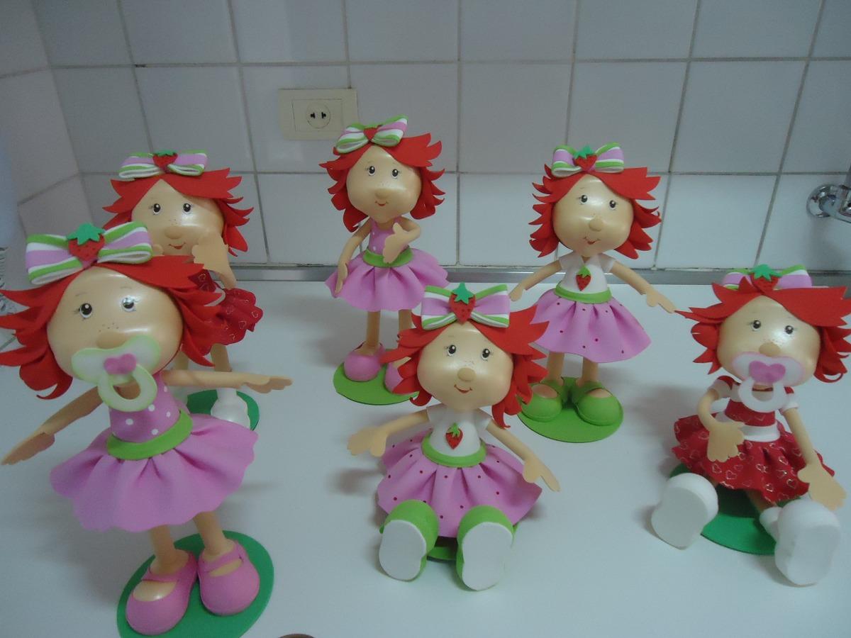 Enfeite De Festa ~ Enfeite Decoracao Festa Infantil Mesa Moranguinho Baby R$ 180,00 em Mercado Livre
