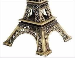 enfeite decoração torre eiffel metal paris decoração 18cm