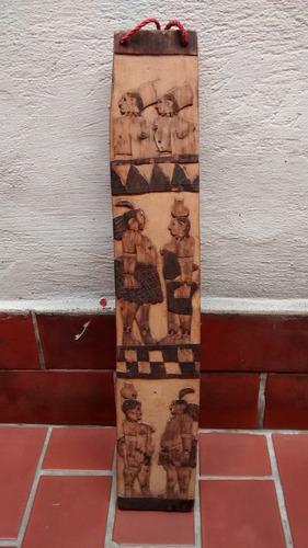 enfeite em madeira antigo e decorado