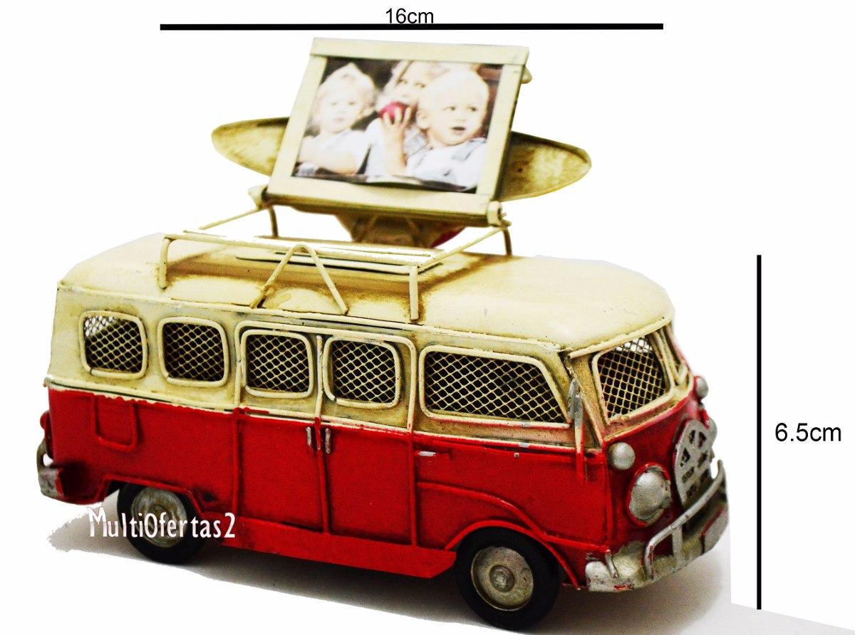 Enfeite De Kombi ~ Enfeite Kombi Antiga Com Porta Retrato Em Metal Retr u00f4 Vintag R$ 119,99 em Mercado Livre