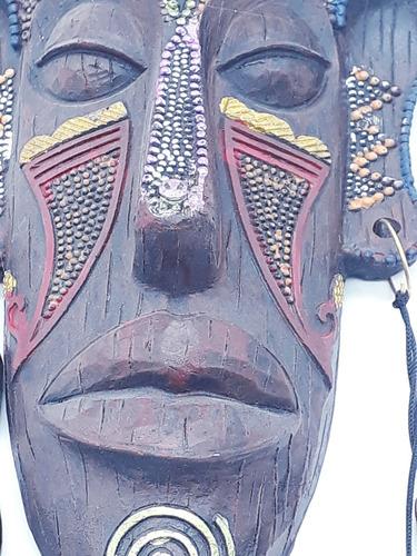 enfeite máscara africana resina estátua decoração d