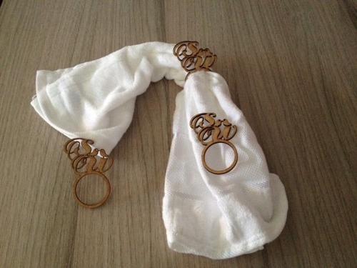 enfeite para casamento porta guardanapos kit 350 unid