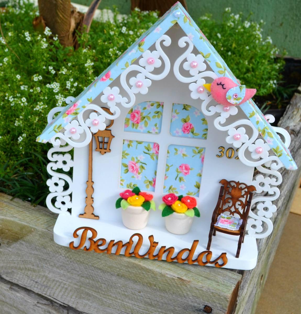 Enfeite para porta casa proven al r 110 00 em mercado livre for Porta or