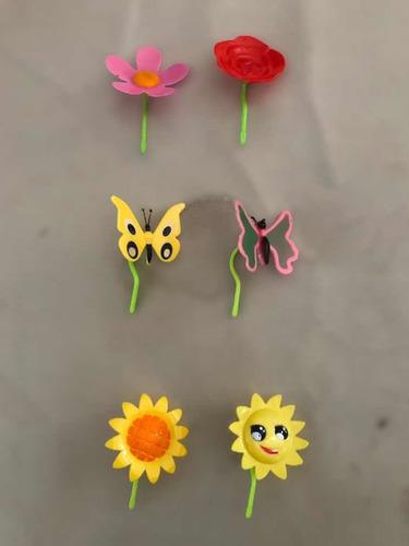 enfeite solar florzinha - kit 3 peças