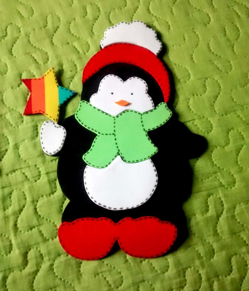 Enfeites De Natal Em E v a R$ 15,00 em Mercado L -> Decoração Em Eva Natal