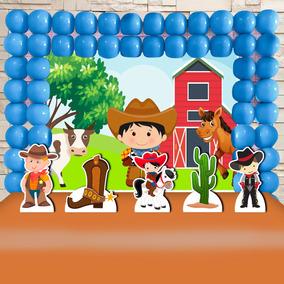 79b5224e26481 Decoracao Festa Infantil Cowboy no Mercado Livre Brasil