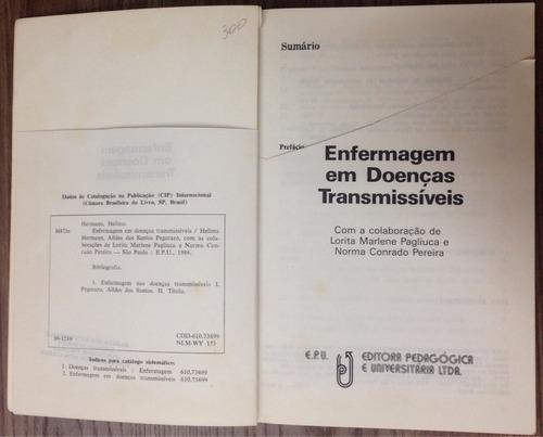 enfermagem em doenças transmissíveis - hellma hermann.