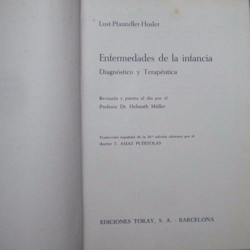 enfermedades de la infancia, lust / pfaundler / husler, ed.