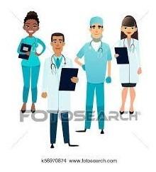 enfermera a domicilio y cuidadoras
