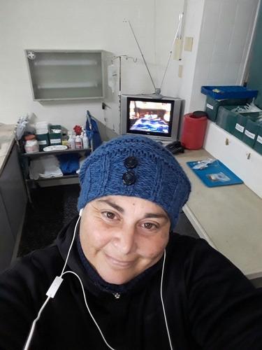 enfermera adomicilio 25 años de experiencia emergencia enadu
