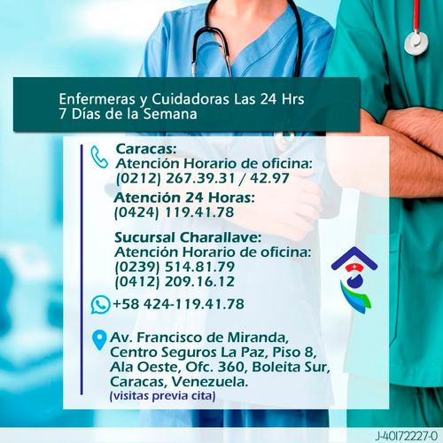 enfermera, enfermero, cuidadora enfermeria domicilio en casa