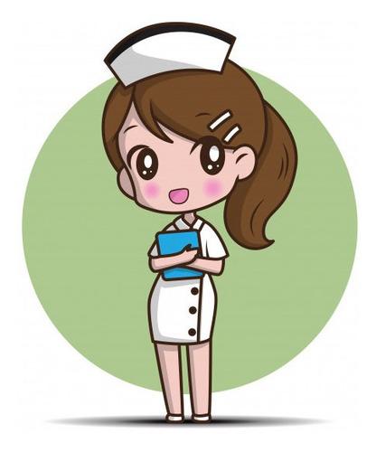 enfermera ofrece atención de salud a domicilio