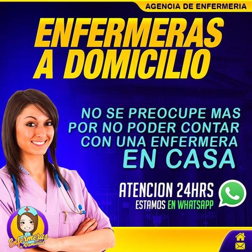 enfermera tecnica a domicilio