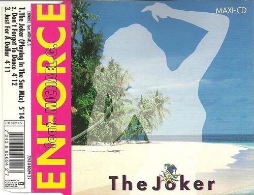 enforce feat. michael g. - the joker cd single importado new