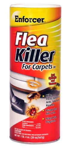 enforcer 20ounce killer para alfombra de pulgas