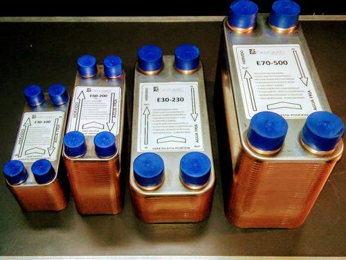 enfriador 60 placas cerveza 400 l/h lote hasta 220 litros