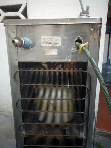 enfriador bebedero dispensador de agua tipo escuela luferca
