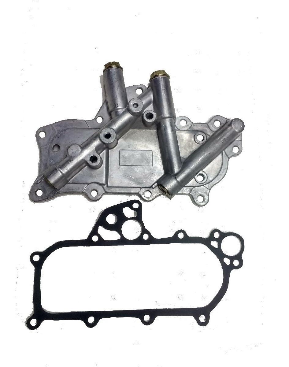 Enfriador De Aceite Nissan Td27 Bd30 Qd32 Tapa Aluminio