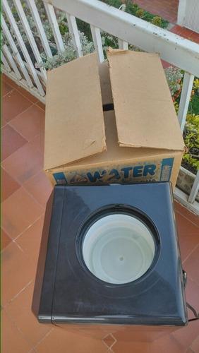 enfriador de agua potable negro usado 1 mes de garantía