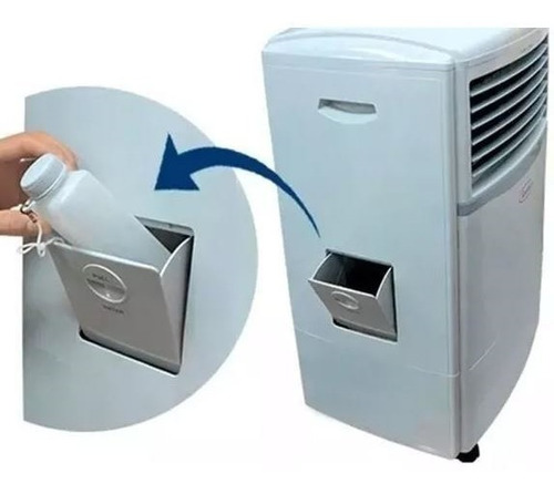 enfriador de aire ks 9.5 lts frio calor evaporativo gtia