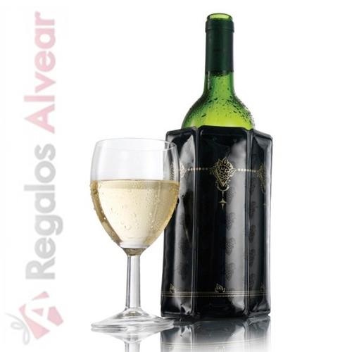 enfriador de vinos vacu vin individual vacuvin
