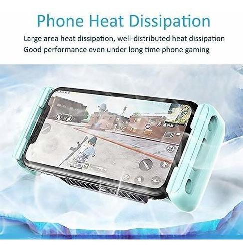 enfriador disipador de calor ventilador celular gamers glotr