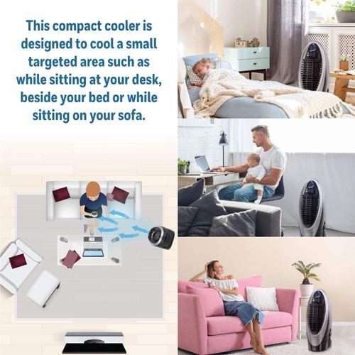 enfriador evaporativo portátil para interiores honeywell c