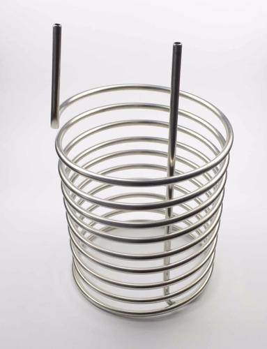 enfriador p/ inmersión aluminio serpentina/ 8 mts 1/2 pulg.
