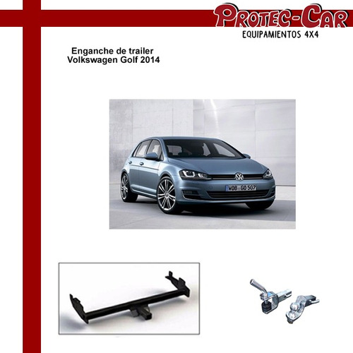 enganche de trailer volkswagen golf 2014