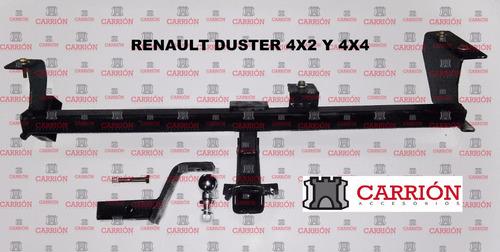 enganche renault duster 4x2 - carrionaccesorios -