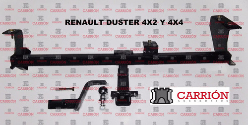 enganche renault duster 4x2 hasta 2016 - carrionaccesorios -