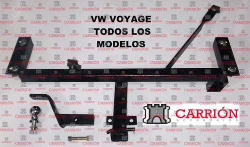 enganche vw voyage, hasta 2015. carrionaccesorios