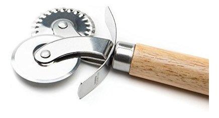 engarzadora y cortadora de rueda de pasteleria fox run 5542,