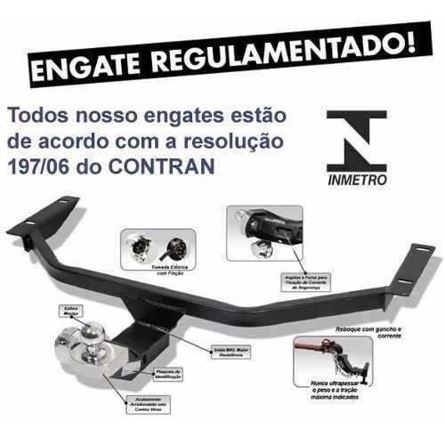 engate de reboque novo fox 450kg