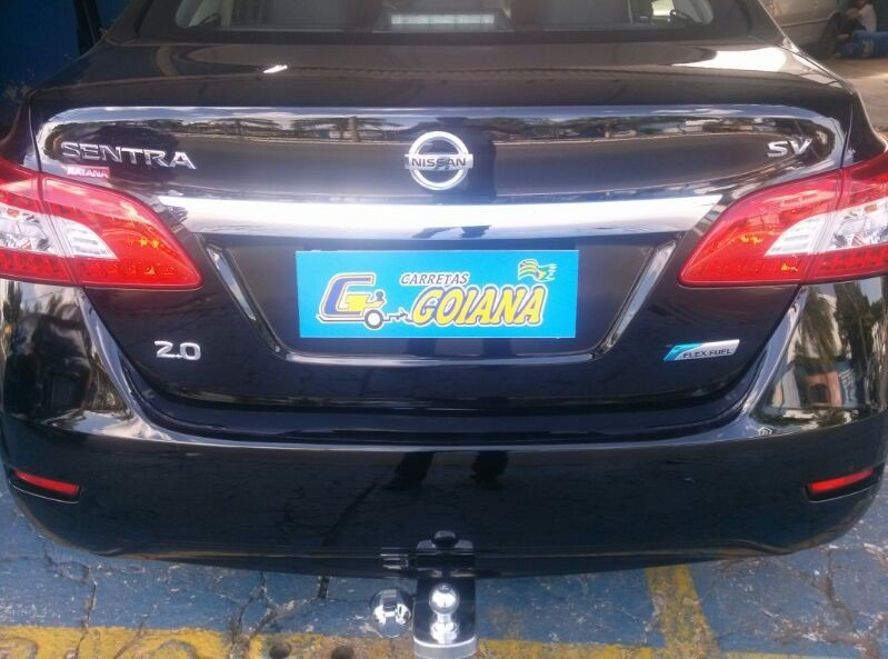 Engate Fixo Ou Removível P/ Nissan Sentra 2008 Até 2014