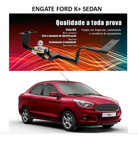 engate novo ford ka + sedan 2014 2015 - original mult