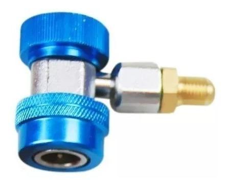 engate rapido de alta ou baixa manifold gas ar condicionado