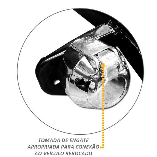 engate reboque fixo parati modelo quadrado 1987 até 1995
