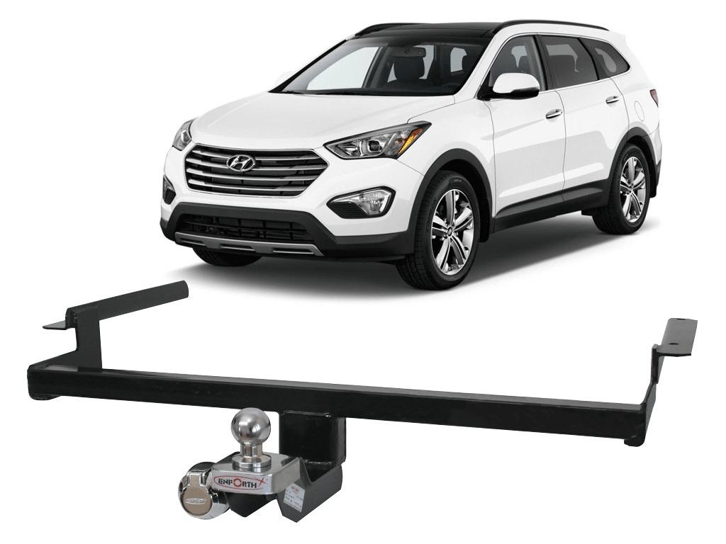 Engate Reboque Hyundai Santa Fé 2011 A 2016 2017 500kg Fixo. Carregando  Zoom.