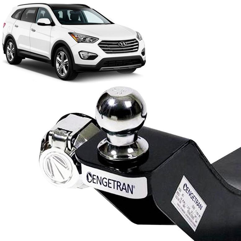 Engate Reboque Hyundai Santa Fé Gls 2014 Engetran Homologado