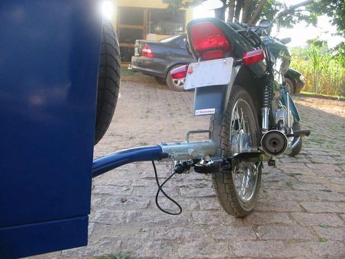 engate reboque pino bola p carretinha em moto broz nx 150