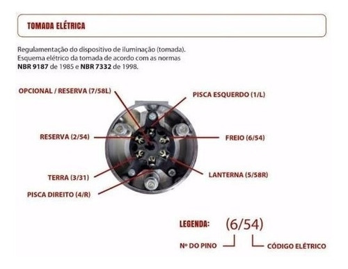 engate reboque toyata  corolla 2010 2011 2012 2013 500 kg