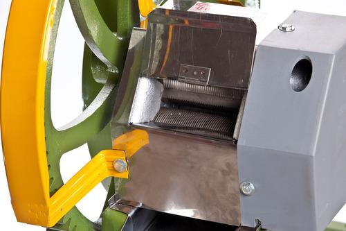 engenho para cana b-200 inox para motor a gasolina