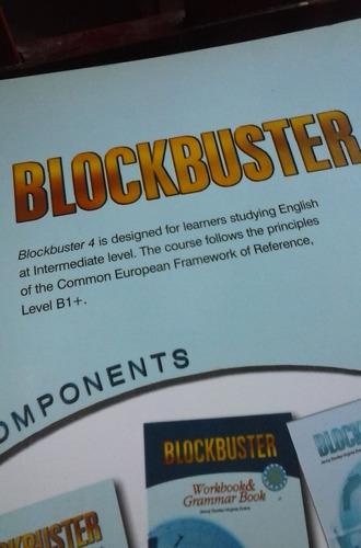 english blockbuster 4 workbook & grammar - impecable