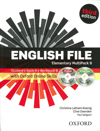 english file (3/ed.) elementary - multipack b con cd (2)