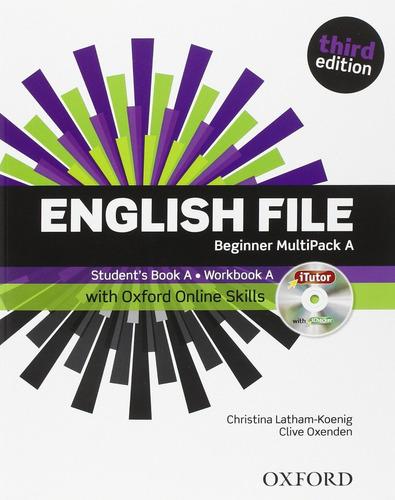 english file beginner - multipack a - oxford 3ra edicion