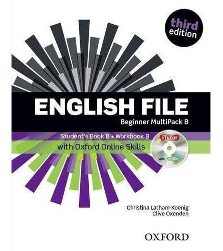 english file beginner - multipack b 3rd edition - oxford